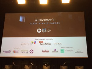 """Sponsors of """"Alzheimer's: Every Minute Counts."""""""