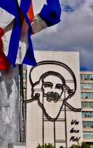 Havana's Revolution Square.