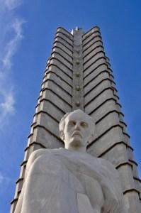 The 20-story star-shaped Memorial José Martí.