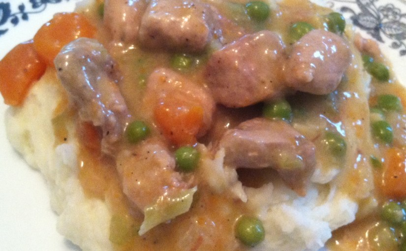 CHEF JEFF: One Byte At A Time — Creamy Chicken And Vegetables