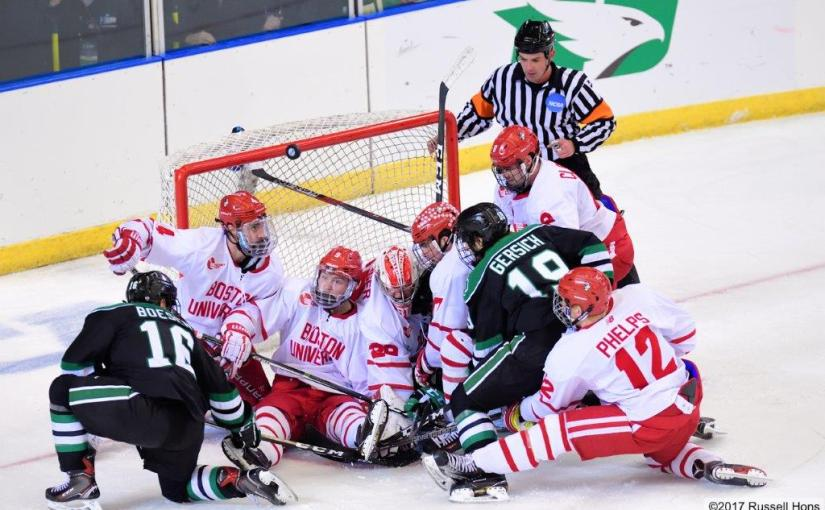 RUSS HONS: Photo Gallery — NCAA West Regional: University Of North Dakota vs. Boston University