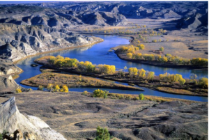 """The mighty and heretofore deemed endless Missouri River"" — Meriwether Lewis."