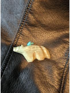 Turquoise talisman.