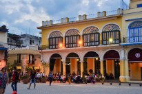 This is one of four squares in Havana that are a perfect place to have a late afternoon coffee or a glass of beer, rum or wine.