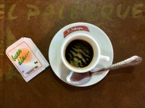 A great start and end to any Cuban day always began with a cuppa strong Cuban coffee. I like mine black with no sugar.