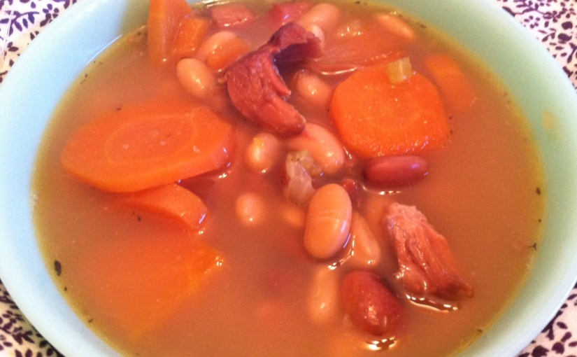 CHEF JEFF: One Byte At A Time — Ham and Bean Soup