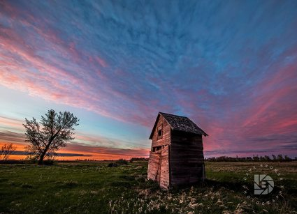"May 21: ""Country Sunset."" A beautiful North Dakota sunset."