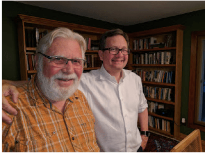 Jim (left) and Jay Clemens.
