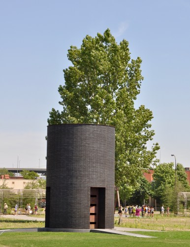 """Black Vessel for a Saint"" by Theaster Gates."