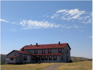 Chateau de Mores State Historic Site, near Medora, N.D.