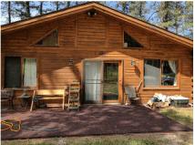 Pine Cone Cabin.