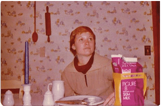 Me, in Ohms kitchen, winter 1978.
