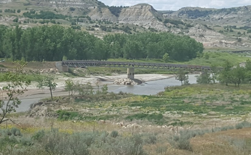 JIM FUGLIE: View From The Prairie — The Newest Bridge Across The Little Missouri State Scenic River. What The …?