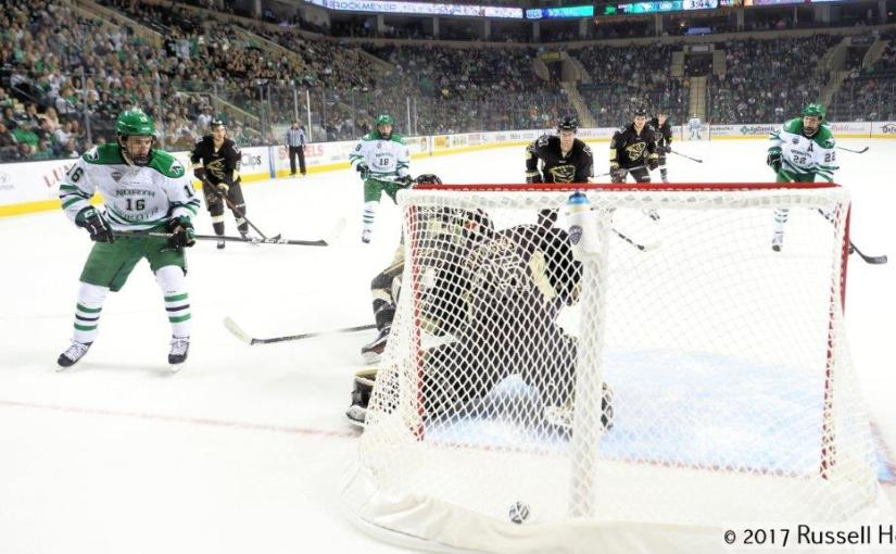 RUSS HONS: Photo Gallery — University Of North Dakota Vs. University Of Manitoba