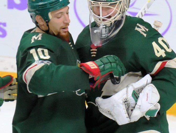 RUSS HONS: Photo Gallery — Minnesota Wild Vs. Philadelphia Flyers