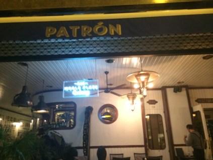 Patrón Restaurant.