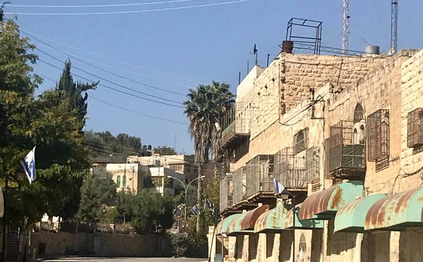 PAULA MEHMEL: Shoot the Rapids — The Holy Land, Day 8, Old Hebron