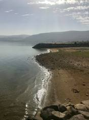 The Sea of Galilee needs to rise 15 feet to get back to the size it once was.