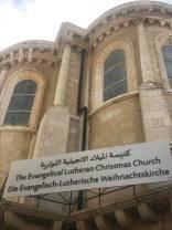 Christmas Lutheran Church in Bethlehem.