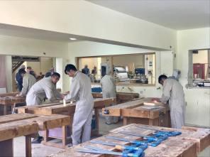 Carpentry classes.