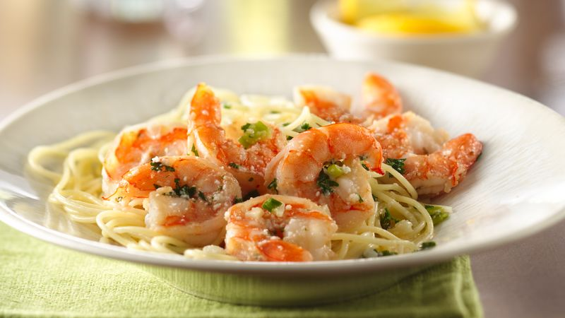 CHEF JEFF: One Byte At A Time —  Shrimp Scampi