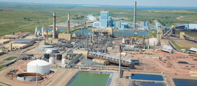 The Great Plains synfuels plant today. It's here because North Dakota passed strict regulations and enforced them–which is what we need to do with the Davis refinery today