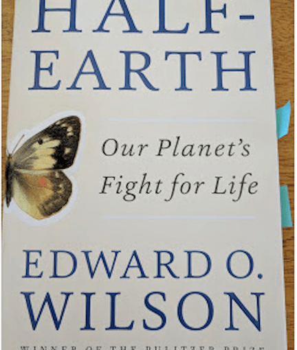 LILLIAN CROOK: WildDakotaWoman — 'Half-Earth: Our Planet's Fight for Life'