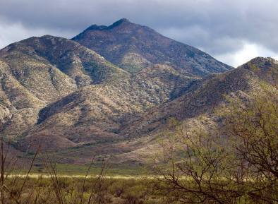 Again, people don't think of Arizona as a mountain state, but these mountain ranges aren't small.