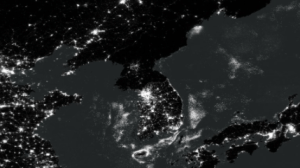 The Korean Peninsula from the International Space Station.