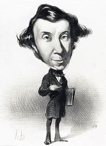 Alexis de Tocqueville (1805-1859).