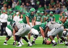 August 30, 2018; The University of North Dakota hosted Mississippi Valley State in their home opener in NCAA D1 football at the Alerus Center in Grand Forks, North Dakota. North Dakota won 35-7. Russell Hons