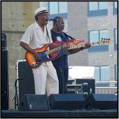 The great James Armstrong performing at the Bayfront Blues Festival this past weekend in Duluth.