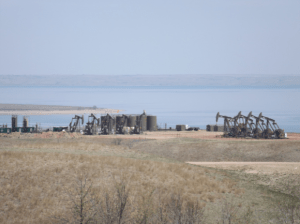 Protecting our public lands is important. Perhaps these wells and tanks could have been just a liiitle bit farther away from Lake Sakakawea.