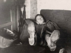 Bob Dreier in Belgium, February 1945.
