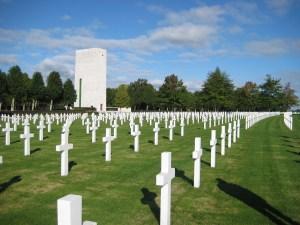 Netherlands American Cemetery in Margraten.