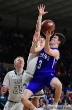 March 7, 2019 2019 NDHSAA Class B, Region 2 Boys Basketball Tournament championship between Hillsboro/Central Valley vs Thompson. All photos can be viewed here: https://bit.ly/2FMqLq1