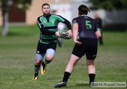 May 4, 2019 Rugby at University of North Dakota. Photo by Russell Hons All photos can be seen here: https://russellhonsphotography.shootproof.com/UND_Rugby_2019