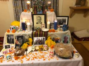 Our group's altar at the Columban Mission Center.