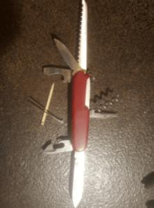 My Swiss Army knife.