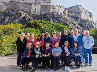 Best of Britain 2019, Insight Vacations for Grand European Travel (missing Nick). I'm in purple, center back row.