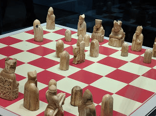 Lewis Chessmen. My favorite is the bored queen.