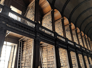 The Long Library, Trinity College, Dublin.