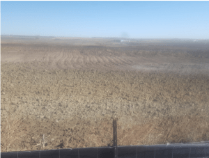 Refinery site, newly disked and maybe seeded, spring 2020.