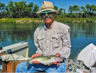 Photo by Jeff Weispfenning, taken in Jeff's boat on the Missouri River.
