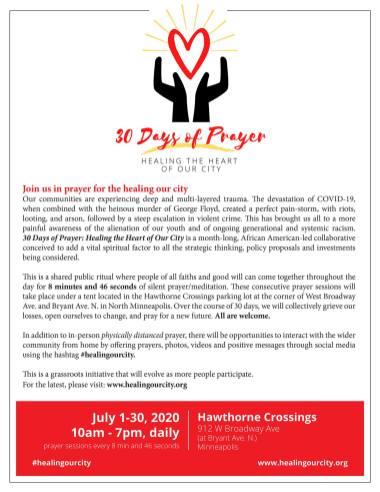 Don Samuels July 2020 Event