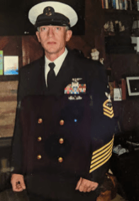 Thomas Crook, Senior Chief, Retired, United States Navy.