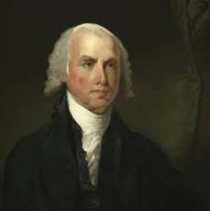 "James Madison, the ""Father of the Constitution."""