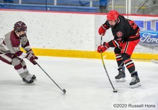 December 15 2020 Red River Roughriders vs Central Knights at Purpur Arena in Grand Forks, ND. GF Central won 4-1. Visit https://russellhonsphotography.shootproof.com/2020_Youth_Sports for free downloads of all of today's game photos thanks to Deek's Pizza! https://deekspizza.com/ and make sure to use the discount code DEEKS on all your online orders for FREE delivery!!