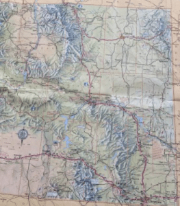 I can't help but wonder why all states can't produce such a map with rich topographic detail as Wyoming's.
