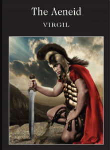 """Book cover of one of the many English translations of Virgil's """"The Aeneid."""" (Credit: Wordsworth Classics)"""